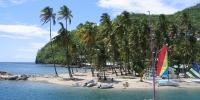 La mer de la Guadeloupe