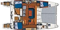 Plan du bateau Melody 471