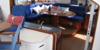 Chambre à coucher dans un bateau