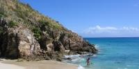 Bord de la mer Guadeloupe
